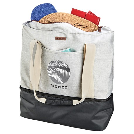 Cutter & Buck® 16oz. Cotton Boat Tote Cooler