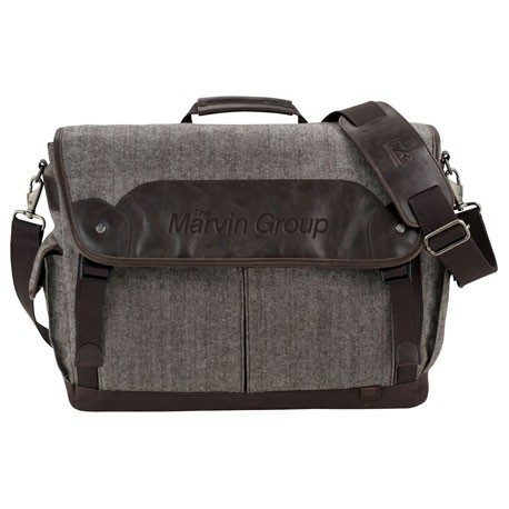 "Cutter & Buck® Pacific 17"" Computer Messenger Bag"
