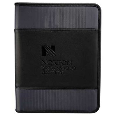 Cutter & Buck® Pacific Series Zippered Padfolio