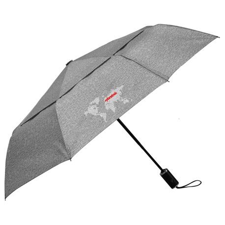 """46"""" Cutter & Buck Heathered AOC Vented Umbrella"""